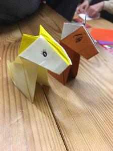 折り紙とウクレレ